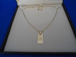 Arany 14k  nyaklánc medállal  5.6 gr