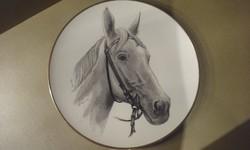 LINDNER lovas falikép