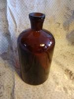 Antik patika üveg - 21 cm. magas - gyógyszertár