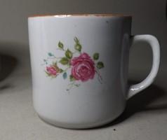 Antik rózsás bögre Zsolnay ??