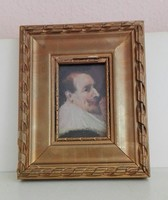 Domenikos Theotokópoulos után: Portré miniatúra