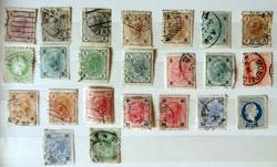 Ausztria bélyegek az 1867-es időszaktól (81 db)