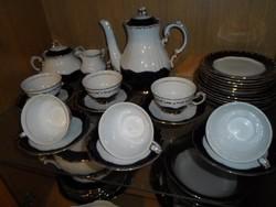 Zsolnay Pompadour III 6 személyes teás vagy kávés készlet