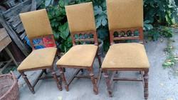 Kis törődést igénylő ónémet székek