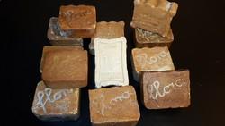 Antik szappanok egy csomagban. / 12 db /
