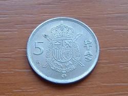 SPANYOL 5 PESETA 1989 M S+V