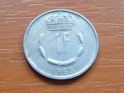 LUXEMBURG 1 FRANK 1968 S+V