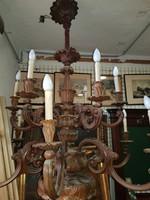 Óriási Barokk fa csillár