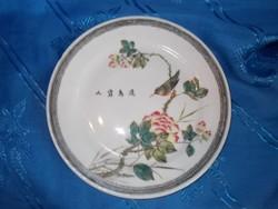 Régi kézzel festett kínai tányér
