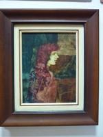 Nagy Kálmán - Ifjúság cimü festménye