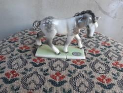 Antik Goldscheider Wien ló szobor