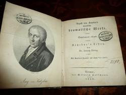 Kemény kötésű antik könyv 1830-ból