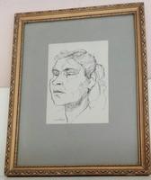 Szalay Lajos: Női portré
