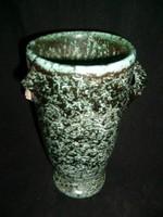 Antik Gorka art decó  váza jelzett. ritkaság leárazva