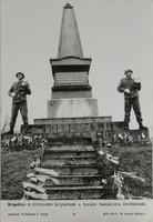 0T186 MTI fotó A kápolnai 1849-es emlékműnél 1992