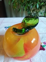 2 db nehéz üveg gyümölcs nehezék
