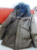 Arktikus Thermal Insulate höszigetelő nagy méreteű férfi télikabát parka 100% kacsatoll XXXL135 mell