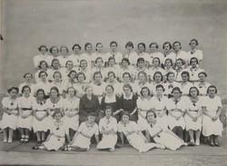 0T211 Régi iskolai fotográfia 1937 BOTFÁN