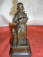 Öntött vas szobor/asztali dísz
