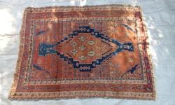 19. századi kézi csomózású perzsaszőnyeg
