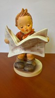 Gyűjteményből eladó 14 cm magas Hummel Goebel ujságot olvasó fiú.