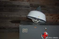 Szarvasi, ipari, zománcozott lámpabúra.