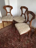 Biedermeier székek (3db)