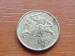 LITVÁNIA 20 CENTU 2007