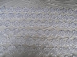Csipke - 13 méter !!! - ÚJ -  GÉPI - szalag  -  gyönyörű 13 méter hosszú 8 cm széles szalag