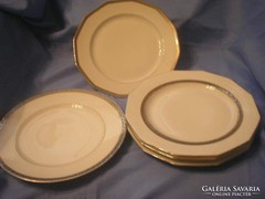5db Limoges tányér,ezüst +,arany díszítéssel ritkaságok egyben