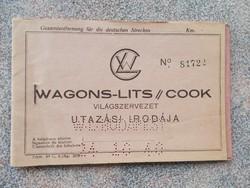 Wagons-Lits, 1940