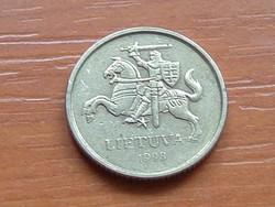LITVÁNIA 10 CENTU 1998
