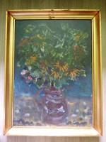 Uhrig zsigmond - Csendélet - olaj / farost festmény