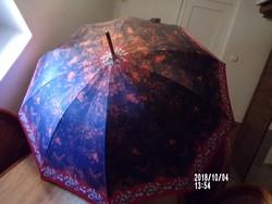 Bordó lakk nyelű esernyő
