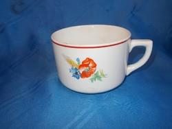 Régi gránit fajansz bögre csésze