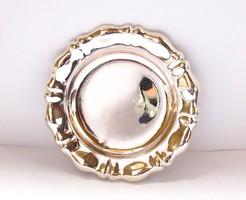Kisméretű pesti ezüst tálka.