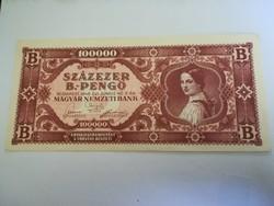 1946-os 100 ezer B.- Pengő aUNC