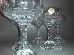 Zwiesel kristály konyakos pohár készlet