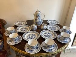 Antik reggeliző teáskészlet