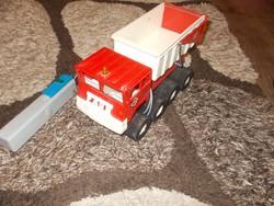 Régi retro Távirányítós Gama Faun billencses teherautó autó