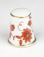 0T365 Hollóházi porcelán gyűszű SC/B