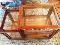 Bárszekrényes  tálaló asztalka zsúrkocsi