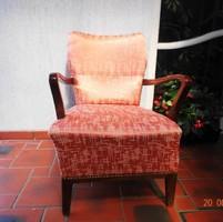 2 Db Antik fotel diófa karral csak egyben