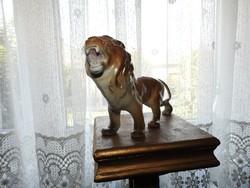 ÜVÖLTŐ OROSZLÁN - Jelzett ALBA JULIA szobor