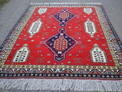 Kazak gyönyörű és különleges kézi csomózású gyapjú szőnyeg 320cmx203cm