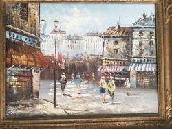 Parizsi utca jelenet