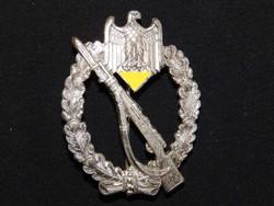 Német 2.VH Gyalogsági támadási Jelvény C.E. Juncker