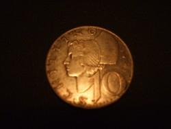 Ezüst 10 schilling 1958