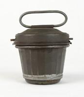 0T358 Antik cukrászati eszköz kuglóf sütő forma