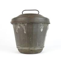 0T357 Antik cukrászati eszköz kuglóf sütő forma